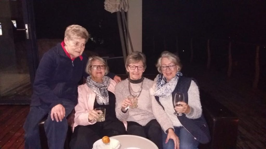 Clara ladies at Danny and Dawn Freddel's Farewell Party
